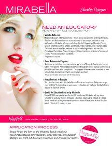 Education Flyer Q3 2018